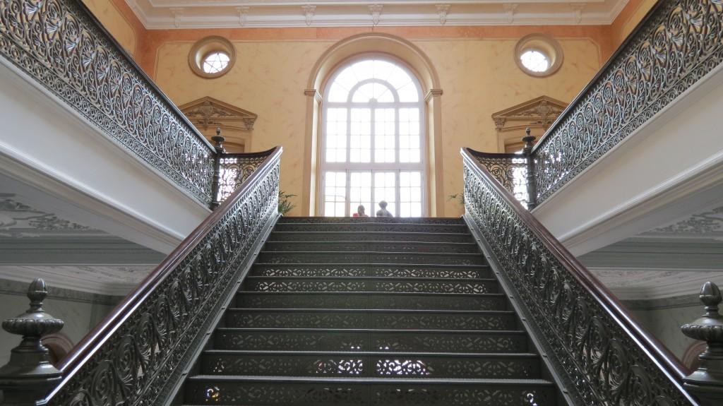 Escadarias da Biblioteca Pública do Amazonas - foto por Soraia Magalhães