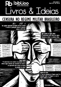 """Capa da edição especial """"Livros & Ideias: censura no regime militar brasileiro"""""""