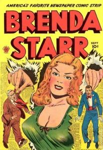 Brenda Starr, criada em 1940 por Delia Messick – repórter que discutia sua posição enquanto mulher em seu universo de trabalho (Foto: Reprodução)