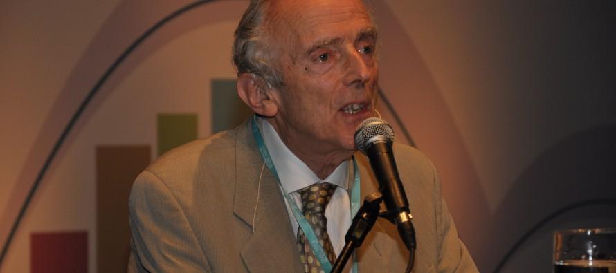 Peter Burke, historiador do conhecimento. Foto: Luis Fernando Assis/UFMG