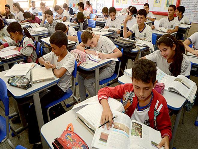 AIunos da rede pública de Pernambuco. Eles aprendem menos que os colegas do Sul e Sudeste (Foto: Ademar Filho/Secretaria da Educação de Pernanbuco)