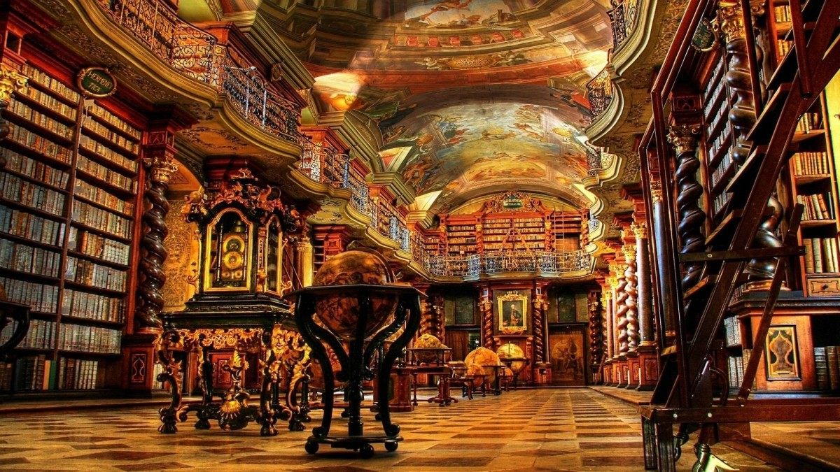 Biblioteca Nacional de Praga (Praga, República Checa)