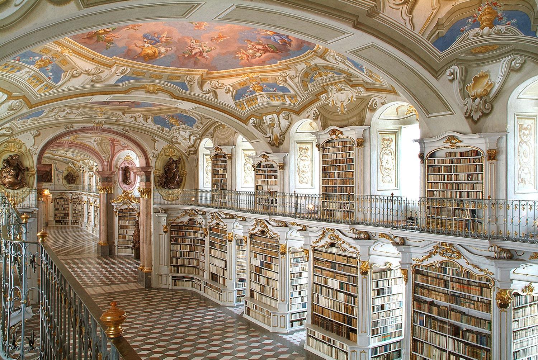 Biblioteca de Admond (Admond, Áustria)