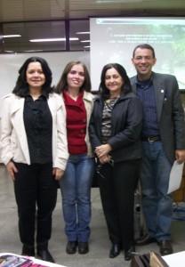 Na defesa do TCC da Pós-graduação em 2011