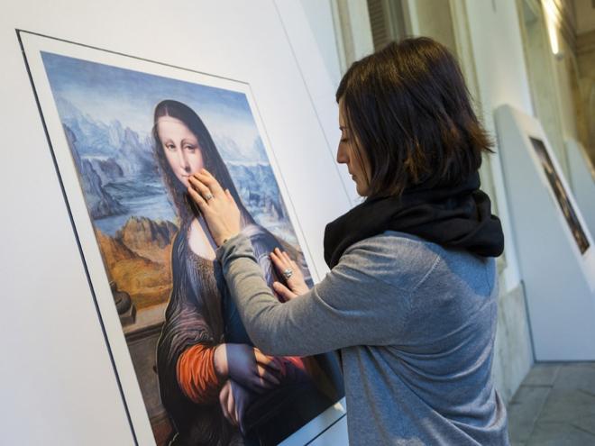 O Museu do Prado imprimiu seis das obras mais importantes do seu acervo para a mostra Hoy Toca el Prado. Foto: divulgação.