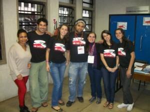 Com a Comissão organizadora do EREBD SECO Niterói 2012