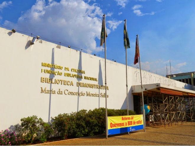 Biblioteca Demonstrativa de Brasília. Foto: Soraia Magalhães/Caçadores de Bibliotecas