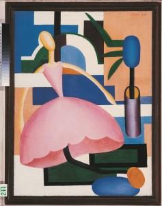 'A Boneca' (1928) é um dos 25 quadros de Tarsila do Amaral expostos na mostra