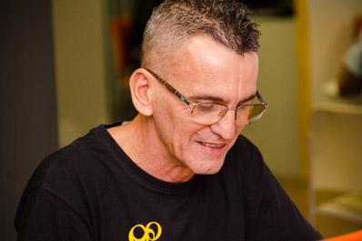 Jorge Mathias, 53 anos, conta que se redescobriu no teatro