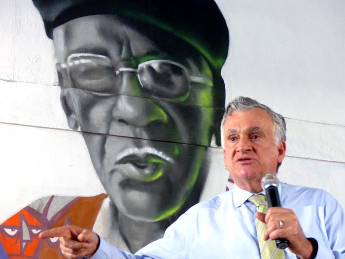 Juca Ferreira. Foto: Hanna Gledyz / Agência Biblioo.