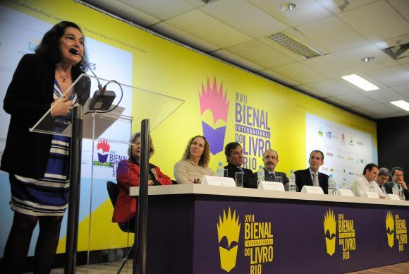 A literatura é um caminho para aumentar integração entre Brasil e Argentina, diz a diretora-geral de Assuntos Culturais  do  Ministério de  Relações  Exteriores  da Argentina, Magdalena Faillace  Tânia Rêgo/Agência Brasil