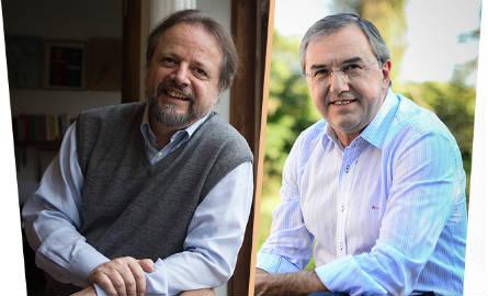 Cristóvão Tezza e Laurentino Gomes estão confirmados na programação da Flica 2015. Foto: divulgação