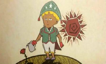 O Pequeno Príncipe ganhou nova roupagem na história de Josué Limeira ilustrada por Vladimir Barros. Foto: Reprodução