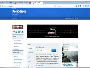 Projeto é sobre o Portal de Periódicos da CAPES (Foto: Reprodução/Internet)