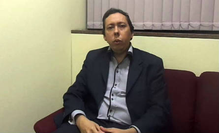 Alex Branco assumiu a presidência do CRB7 após a saída de Marcos Miranda. Imagem reprodução do youtube.