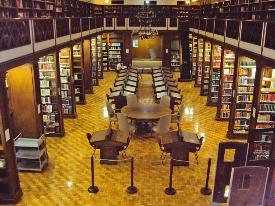 Biblioteca Carvalho de Mendonça. Foto: bibliodireitoufrj.blogspot.com.br.