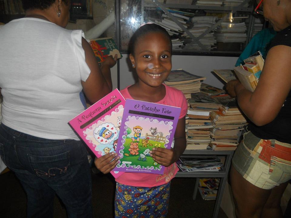 Foto: Facebook ONG Associação Cultural Livro em Movimento