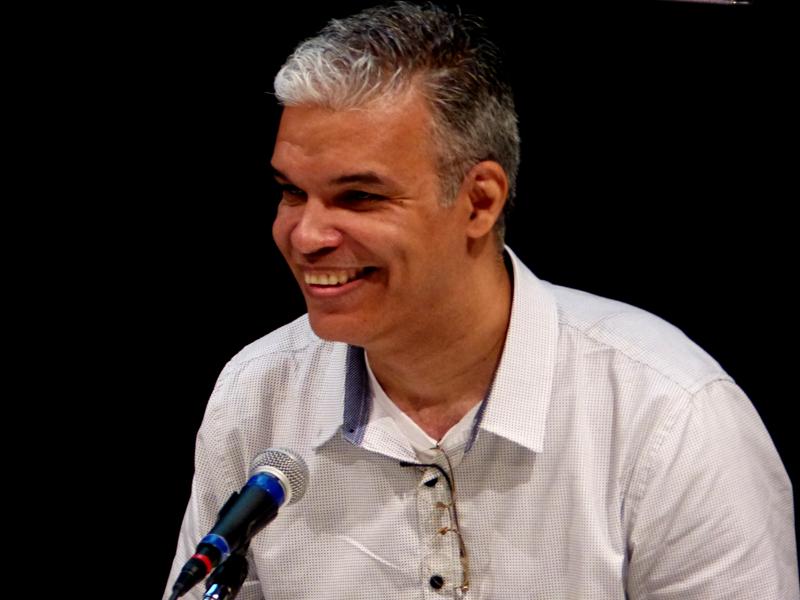 Claudio Soares. Foto: Hanna Gledyz / Agência Biblioo