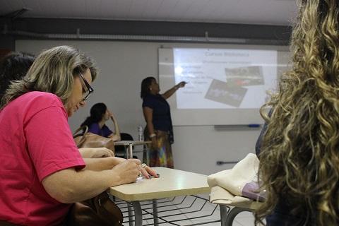 Grupo discutiu questões voltadas para as bibliotecas públicas Foto: Rodolfo Targino / Agência Biblioo