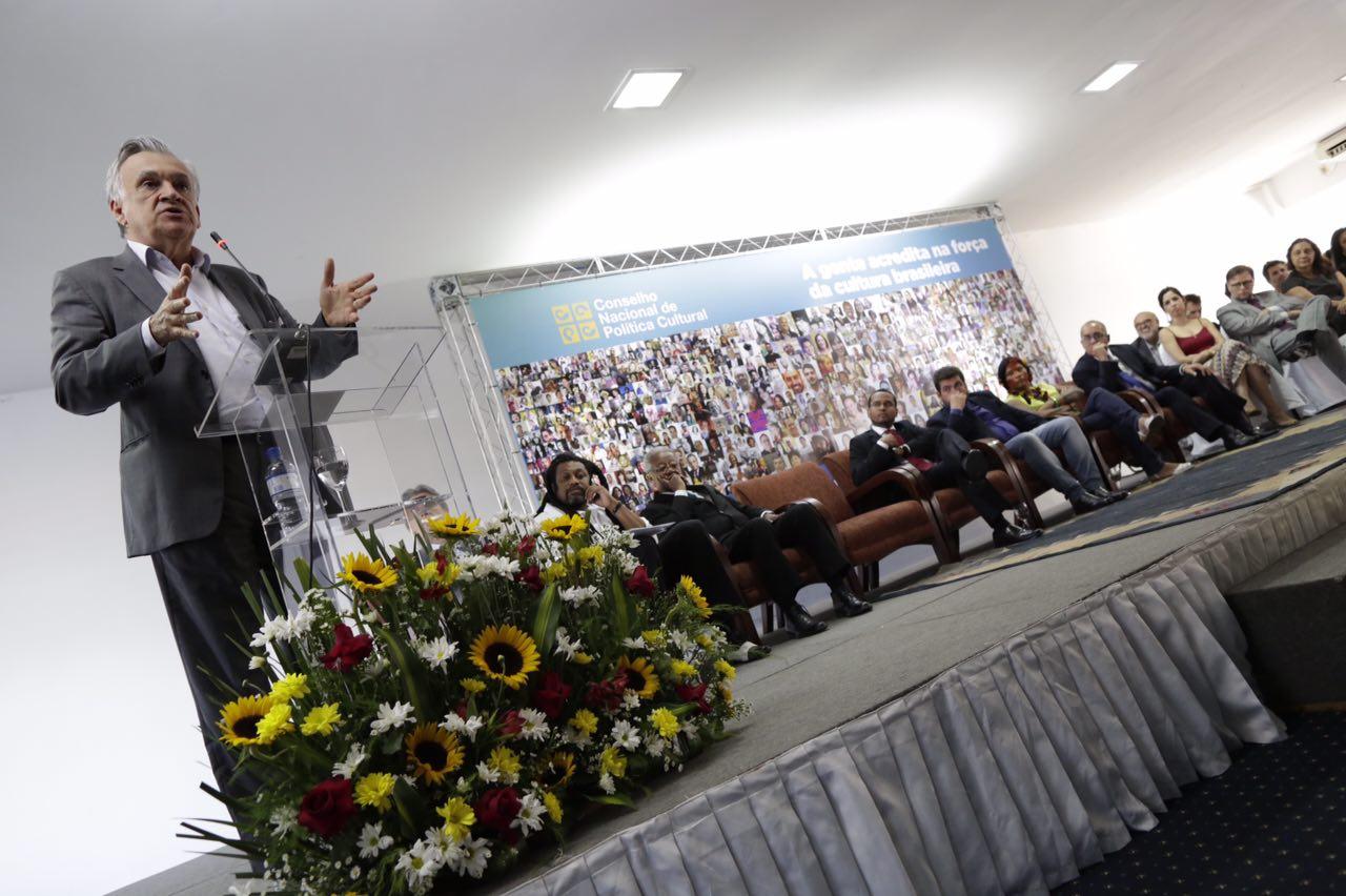 """Ministro Juca Ferreira: """"Perseguimos a democratização de toda a gestão cultural do Brasil"""". Foto: Lia de Paula."""