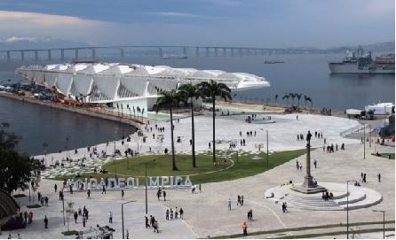 O recém inaugurado Museu do Amanhã fica na Praça Mauá, Centro do Rio. Foto: divulgação