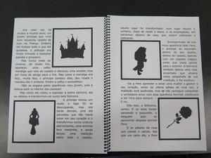 Imagens do livro de realidade aumentada viram objetos virtuais. Foto: Mariane Rossi/G1.