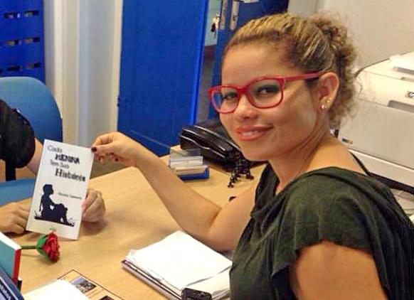 Mira Dantas, presidenta do Sindicato dos Bibliotecários de Alagoas. Foto: arquivo pessoal do Facebook.