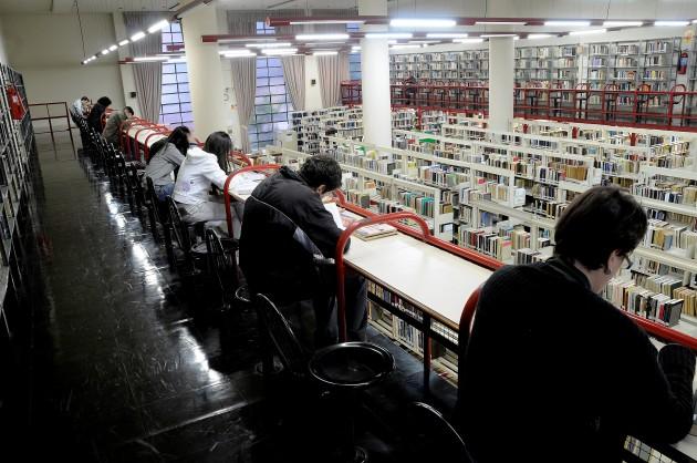Biblioteca Pública do Paraná. Foto: divulgação.