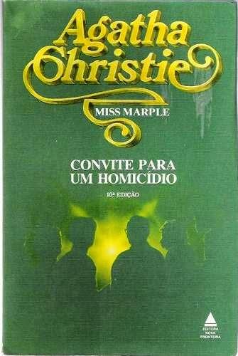 Capa do livro Convite para um homicídio, de Agatha Christie
