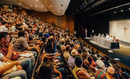 Lançamento do plano de cultura em São Paulo. Foto: Leon Rodrigues/Secom/SP.