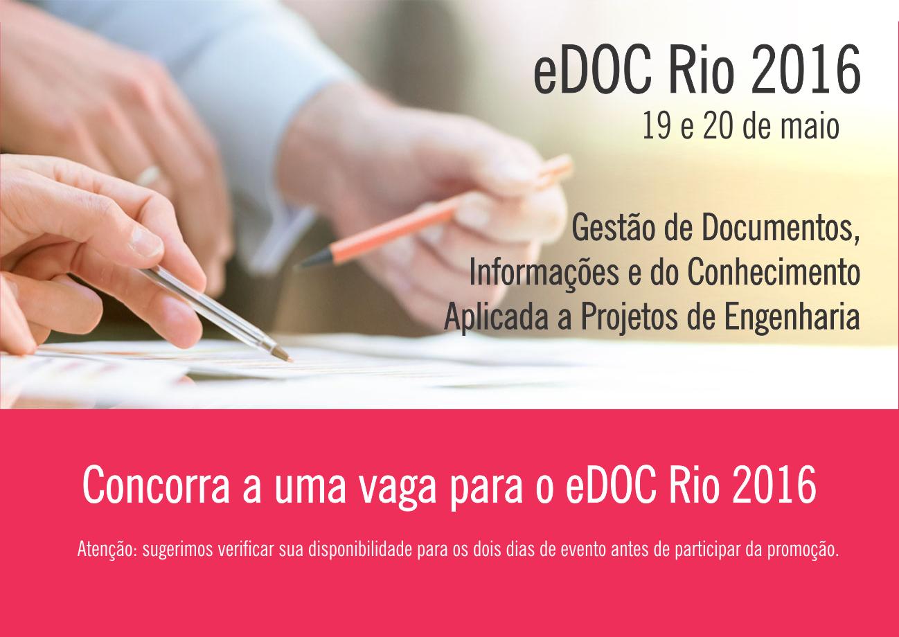 Promoção eDOC Rio 2016 site