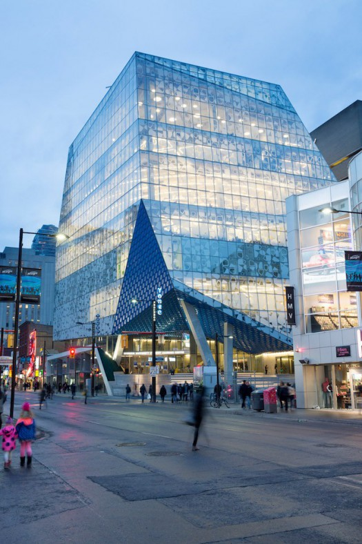 Ryerson University Student Learning Centre en Toronto (Canadá). Fonte: IdealistaNews