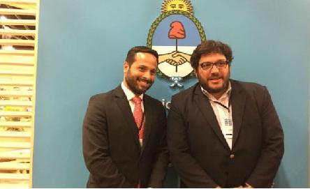 Marcelo Calero e Pablo Avelluto. Ministros da Cultura do Brasil e da Colômbia, respectivamente