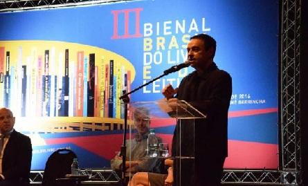 O diretor da 3ª bienal do Livro e da Leitura de Brasília, Nilson Rodriguesdivulgação/Bienal do Livro e da Literatura