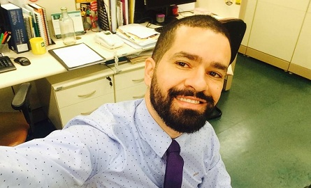 Cristian Santos novo diretor do DLLLB. Foto: Facebook