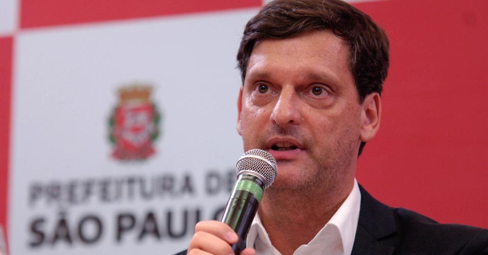 André Sturm, secretário municipal de Cultura de São Paulo. Foto: conteudo.imguol.com.br.