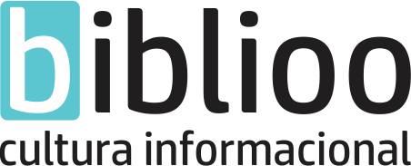 Novo logotipo da Biblioo.