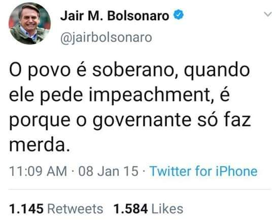 Impeachementbolsonaro Chega Ao Trending Topic Do Twitter