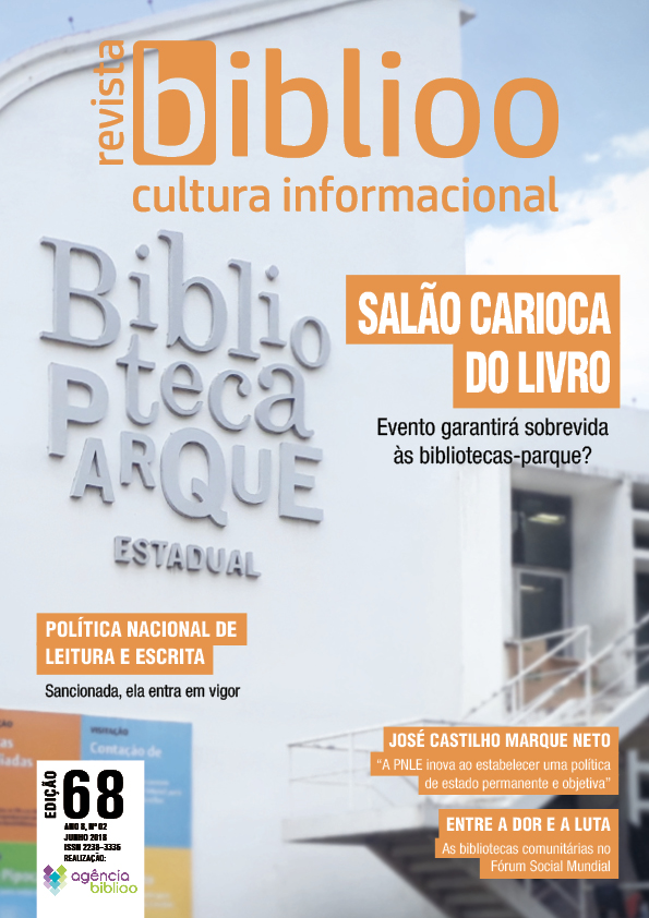 Edição nº 68 da Revista Biblioo